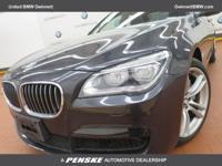 ======: This 2014 BMW 750i Sedan has a Dark Graphite