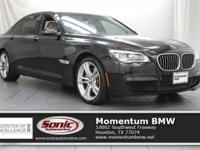 This 2014 750li has M Sport Package, Driving Assistance