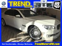 White 2014 BMW 7 Series ALPINA B7 xDrive Alpina AWD