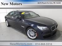 This outstanding example of a 2014 BMW 7 Series 750Li