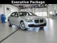 2014 BMW 7 Series 750Li xDrive Glacier Silver Metallic