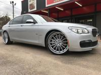 2014 BMW 750 LI WITH M SPORT PACKAGE!!!! 2 OWNER CLEAN