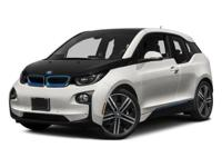 BMW Certified, CARFAX 1-Owner, LOW MILES - 12,632! i3