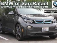 Options:  2014 Bmw I3 4Dr Hb W/Range Extender|1-Speed
