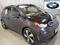 Come check out this one-owner, local, CERTIFIED i3