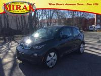 137 MPGe Ultra low mileage BMW I3 Mega World edition
