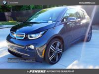 BMW Certified, CARFAX 1-Owner, ONLY 19,533 Miles! i3