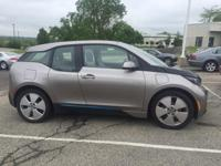 Andesite Silver Met w/BMW i Frozen Blue Accent 2014 BMW