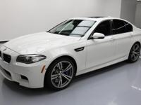 2014 BMW M5 with Executive Package,Driver Assistance