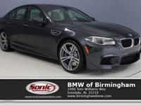 This Certified Pre-Owned 2014 BMW M5 comes complete