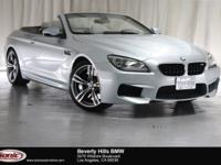 This 2014 BMW M6 Convertible is a One Owner vehicle