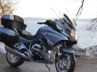 2014 BMW R1200RT Excellent, like new condition. Every