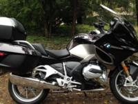 2014 BMW R1200RT in perfect, showroom condition with