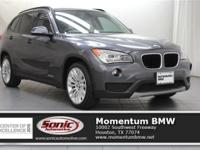 Delivers 34 Highway MPG and 23 City MPG! This BMW X1