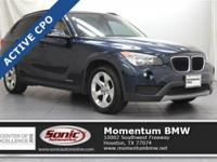 This 2014 X1 sDrive2.8i has Panoramic moonroof,