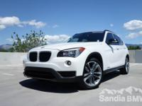 Sandia BMW MINI is offering this  2014 BMW X1
