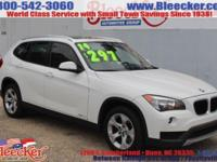 This is a VERY NICE 2014 BMW SUV. It has leather seats
