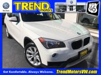 CARFAX One-Owner. White 2014 BMW X1 xDrive28i AWD