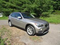 2014 BMW X1 Automatic 8-Speed   This gas-saving Luxury