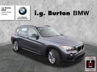 CARFAX 1-Owner, BMW Certified, LOW MILES - 26,710! FUEL