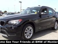BMW Certified, CARFAX 1-Owner, LOW MILES - 29,641! JUST