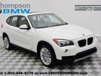 Take command of the road in the 2014 BMW X1 xDrive28i!