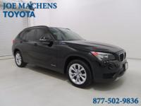 Turbocharged! Gasoline! 2014 BMW X1 xDrive28i AWD.