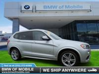 We are excited to offer this 2014 BMW X3. This 2014 BMW