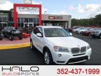 2014 BMW X3 ALL WHEEL DRIVE WITH PANORAMIC SUNROOF BACK