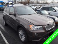 2014 BMW X3 xDrive28i in Sparkling Bronze Metallic.
