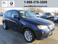 Load your family into the 2014 BMW X3 xDrive28i! It