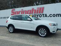 Climb inside this 2014 BMW X3 xDrive28i.This pre-owned