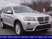2014 BMW X3. 8-Speed Automatic Steptronic. So clean,