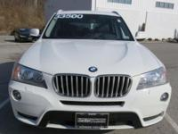 2014 BMW X3 Automatic 8-Speed   This Luxury Vehicle has