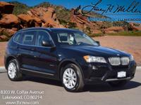 This 2014 BMW X3 xDrive28i comes with Navigation,