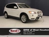 This 2014 BMW X3 xDrive28i is a One Owner vehicle with