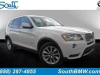 Options:  2014 Bmw X3 Xdrive28i|Alpine White/Black|V4