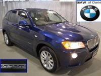 14 X3 2.8i, great miles and BMW Certified! This local,