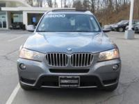 2014 BMW X3 Automatic 8-Speed   CARFAX 1 owner and
