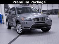 2014 BMW X3 xDrive28i Space Gray Metallic Technology