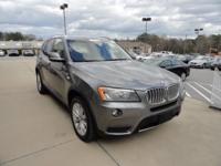 We are excited to offer this 2014 BMW X3. This BMW