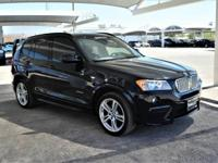 We are excited to offer this 2014 BMW X3. This vehicle