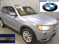 BMW Certified! Great mileage on this fully equipped X3,