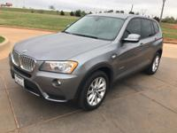 We are excited to offer this 2014 BMW X3. When you