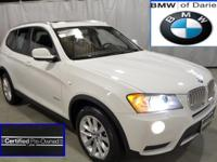 Clean, white, fully equipped X-3, BMW Certified and
