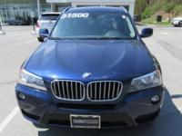 2014 BMW X3 Automatic 8-Speed   Gets Great Gas Mileage: