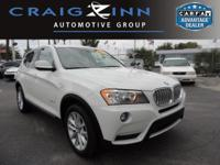 PREMIUM & KEY FEATURES ON THIS 2014 BMW X3 include, but