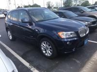 Recent Arrival! 2014 Deep Sea Blue Metallic BMW X3