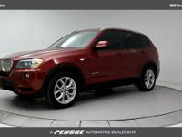 ONE OWNER and CLEAN CARFAX! X3 xDrive35i, 8-Speed