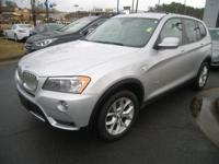 This outstanding example of a 2014 BMW X3 xDrive35i is